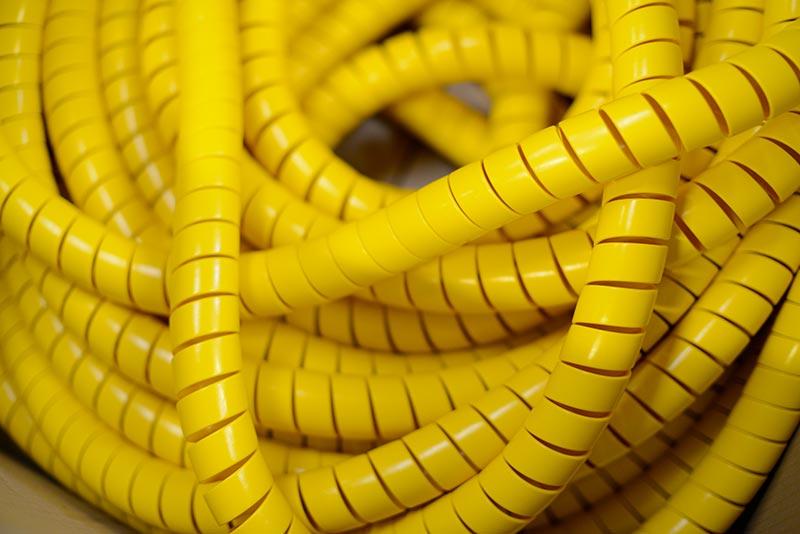 Ressorts de protection en PVC