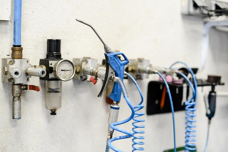 Batterie de répartition de pied de réseau à air comprimé