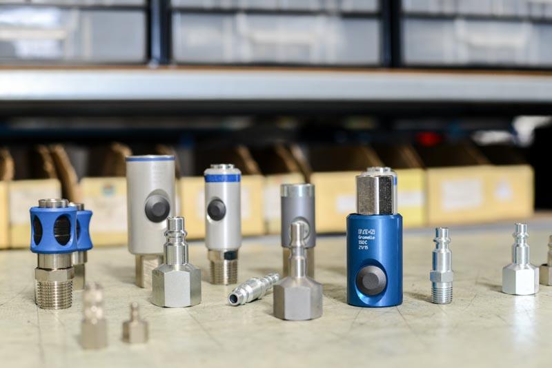 Echantillon de coupleurs pneumatiques (ISO B, ISO C, Europe...)