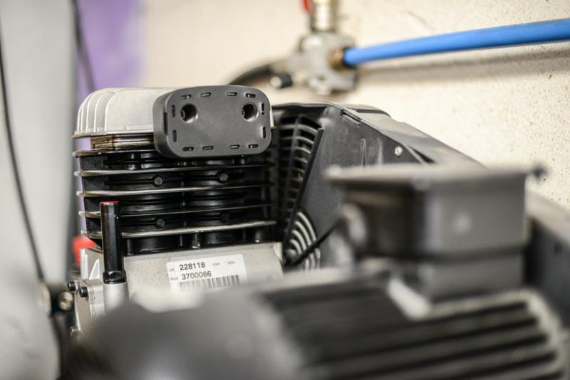 Bloc de compression à pistons