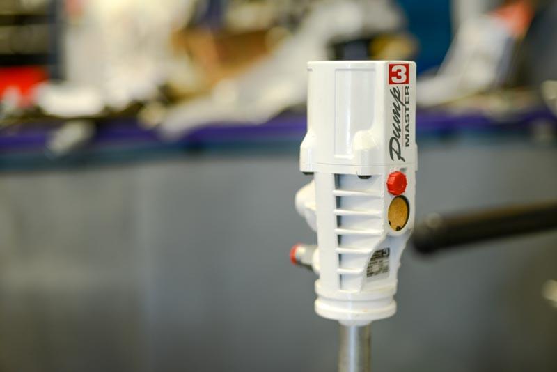 Pompe à graisse pneumatique (rapport : 50/1)