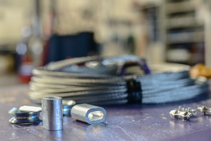 Manchons à sertir les câbles