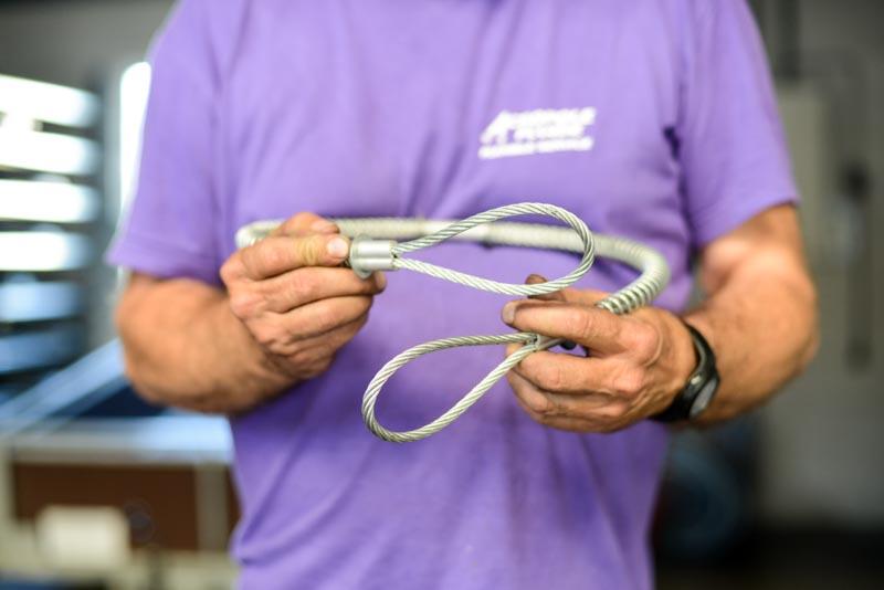 Câble de sécurité pour flexibles