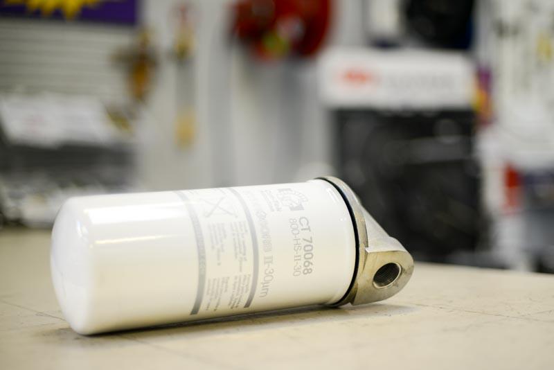 Filtre à gazoil à absorption d'eau (séparateur d'eau)